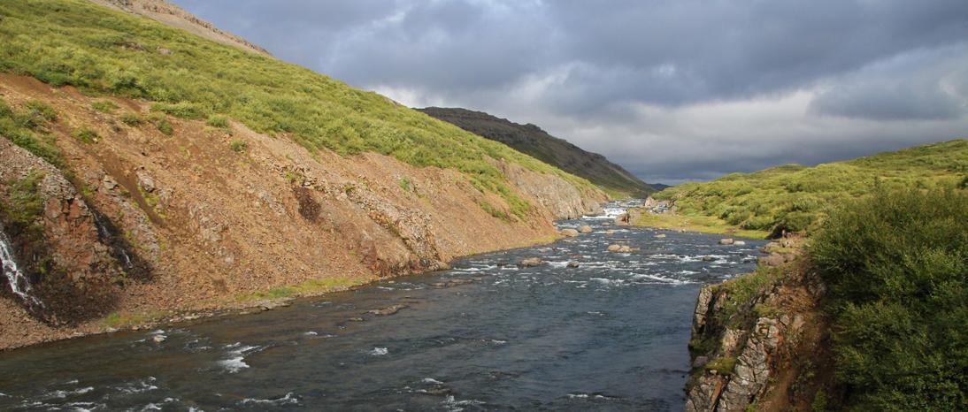 Río Langá, Islandia