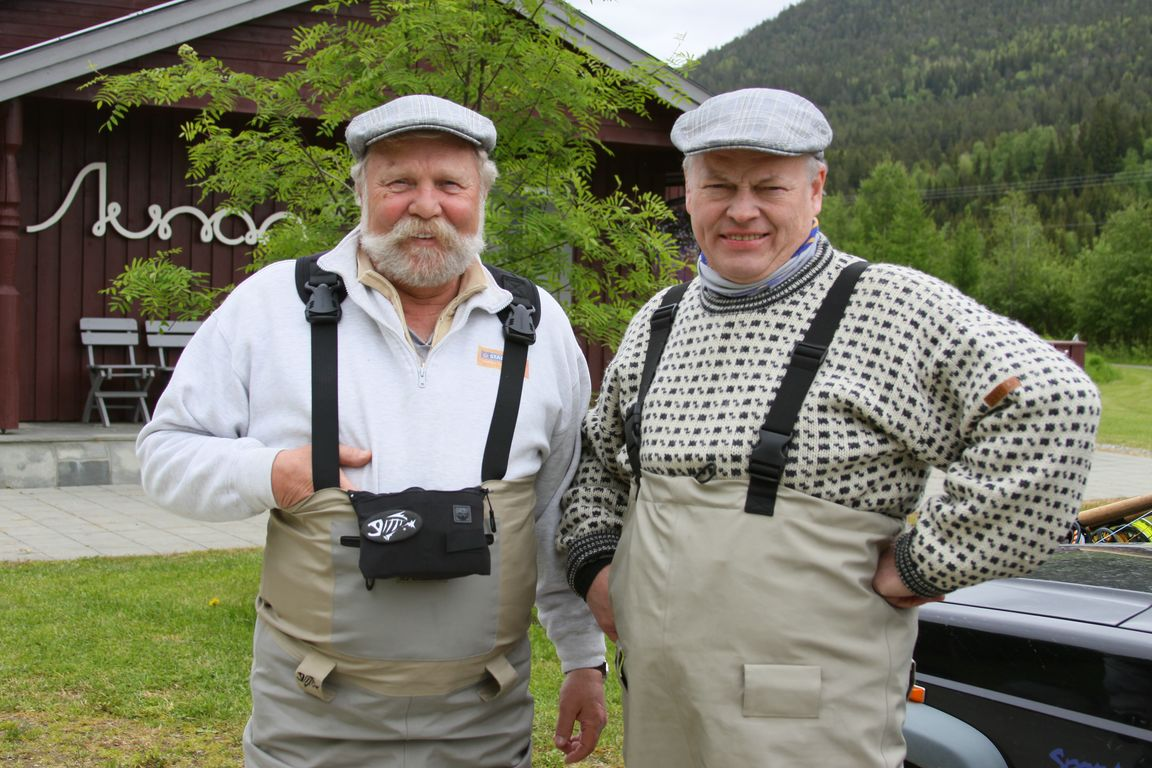 Norway Orkla Salmon Fishing