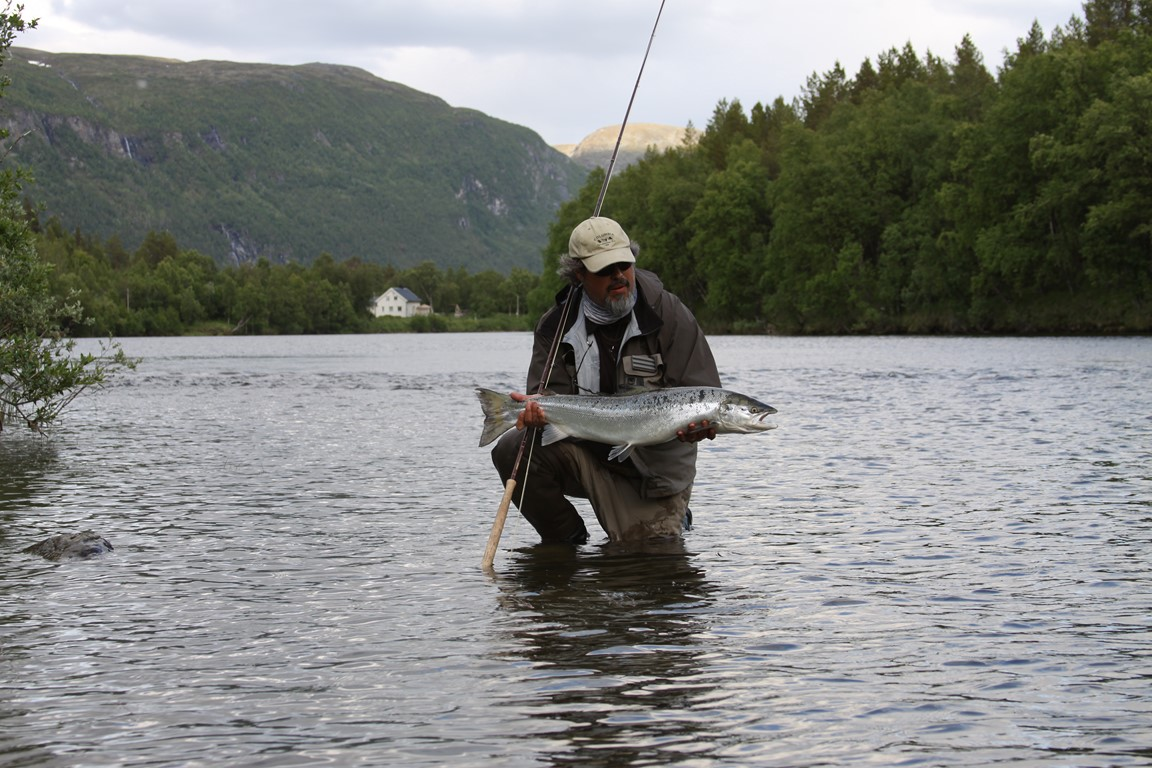 Norway Reisa Salmon Fishing