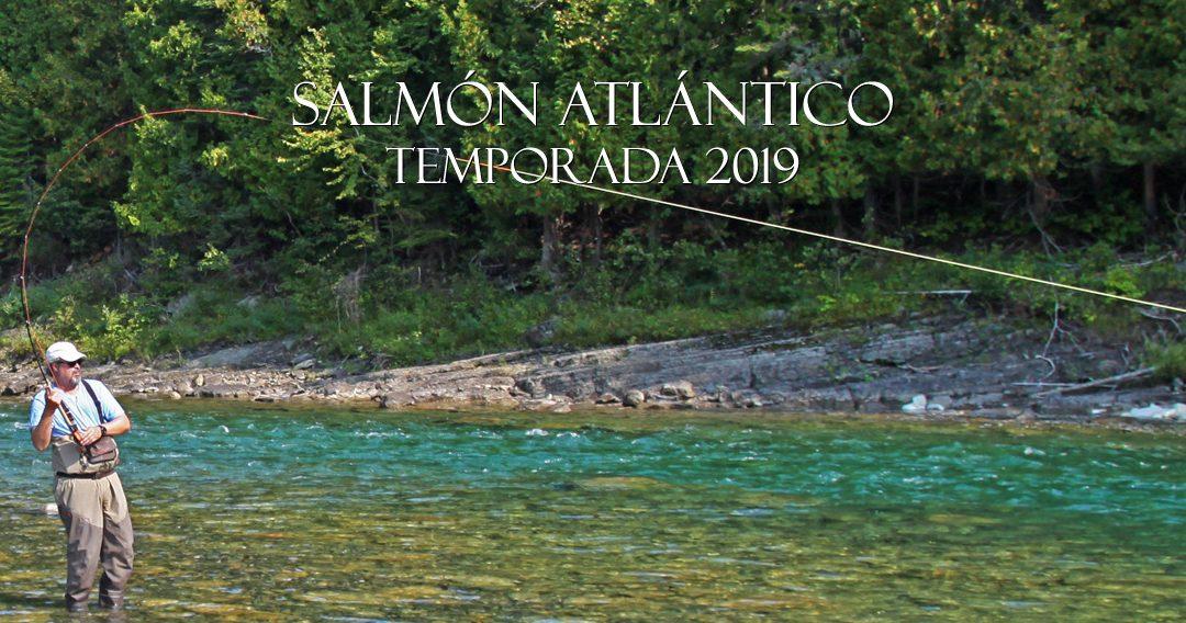 PESCA DE SALMON ATLANTICO EN 2019