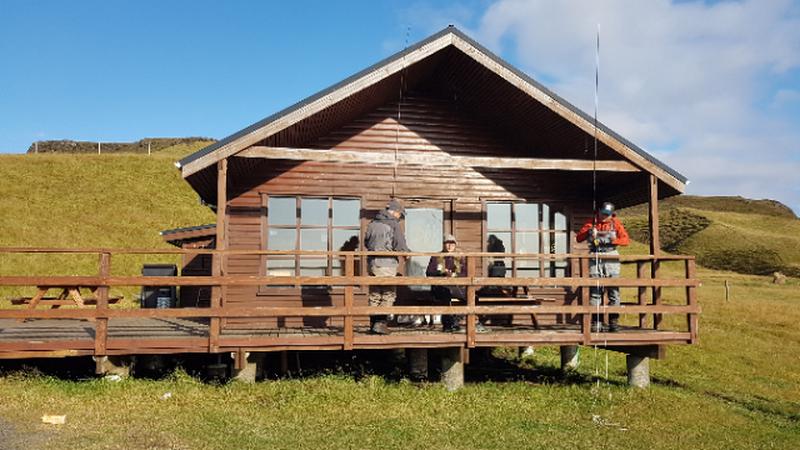 Cabaña de pescadores en Islandia
