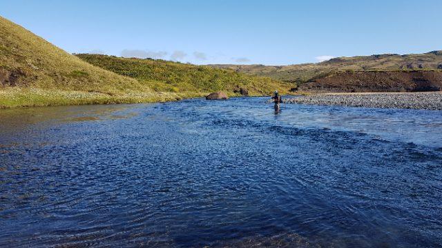 Donde pescar en Islandia