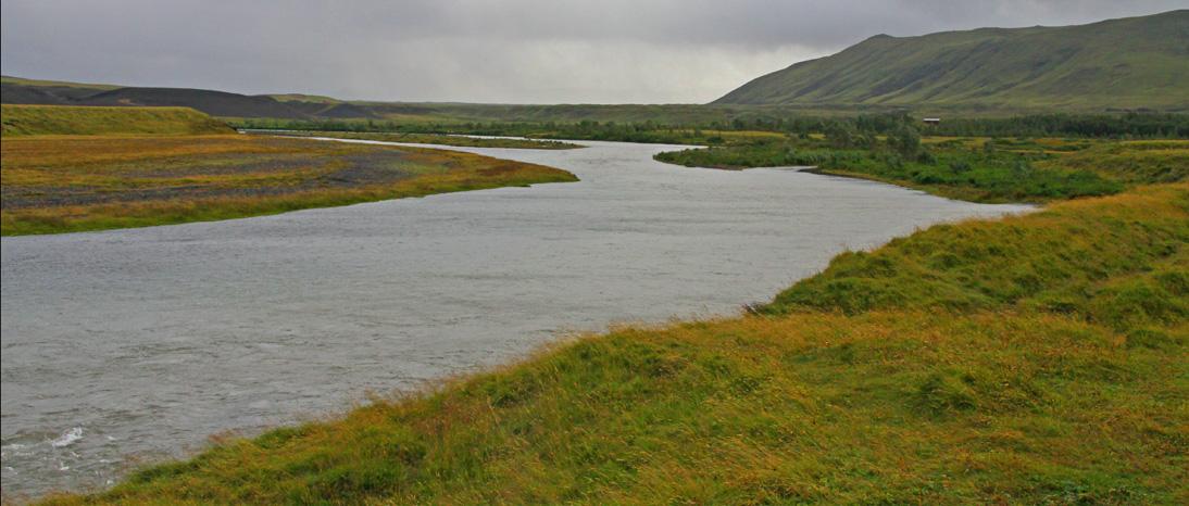 East Rangá salmon fishing in Iceland