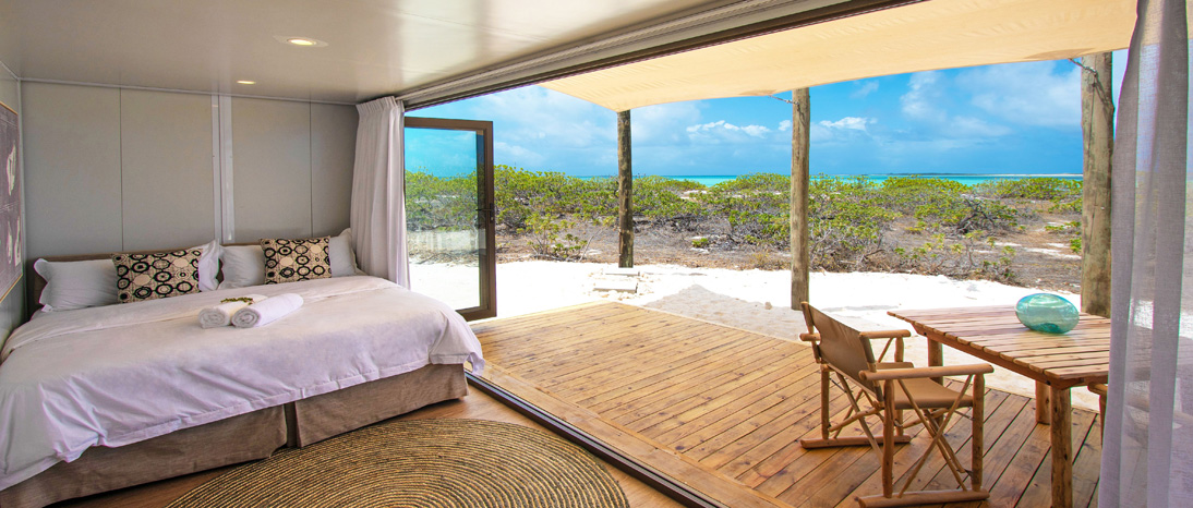 Luxury Ecopod in Cosmoledo, Seychelles